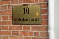 10 Stephens Green nameplate signage-w800