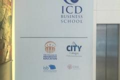 ICD vinyl sign-w800